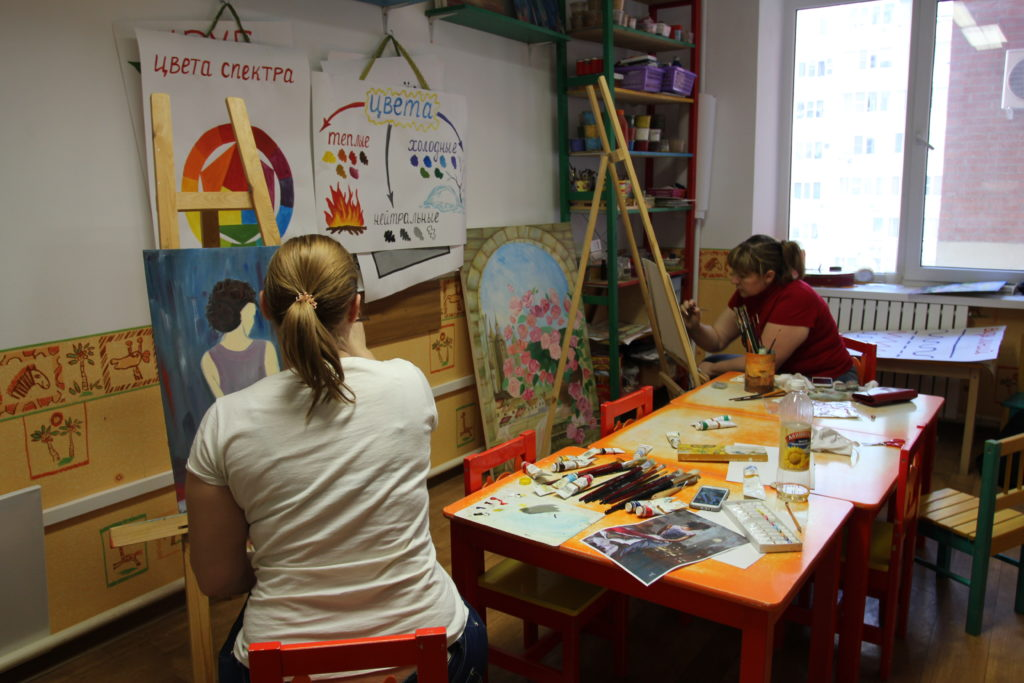 детский центр живопись